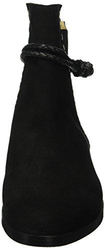 Melvin & Hamilton Susan 32, Bottes Classiques femme Noir - Schwarz (Suede Black/Ela.Black/Bracelet Black/hRS)
