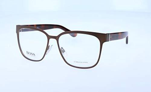 BOSS Hugo Damen Hugo Orange Brille Brillengestelle, Braun, 55