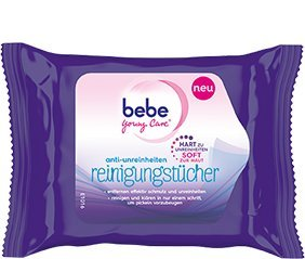 Bebe Young Care anti - unreinheiten Reinigungstücher 6x (1x 25 Tücher)