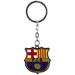 Barcelona F.C. Crest Keyring