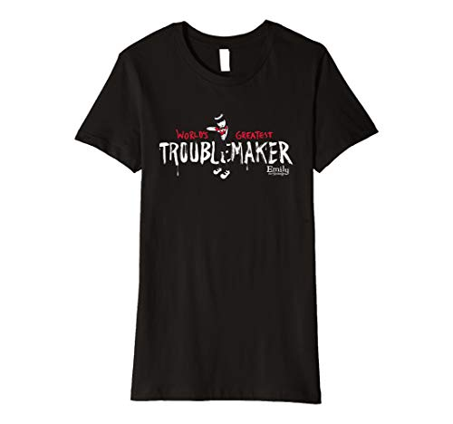 Emily The Strange World\'s Greatest Troublemaker T-Shirt