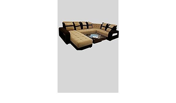 Sunny Designer Sofas Solid Wooden Audi Design U Shape Sectional Sofa
