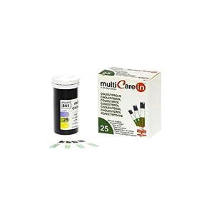 Strisce Nuovo Multicare in Colesterolo 25 Pz.