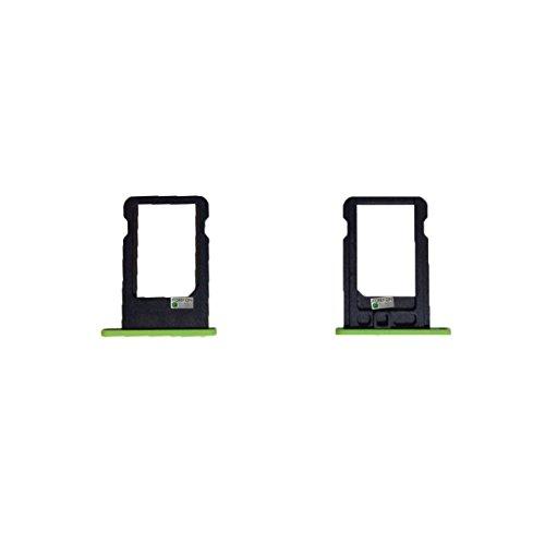 FONFON Micro Sim Adapter Karten Halter Tray Holder Slot Card für Apple iPhone 5C Grüne