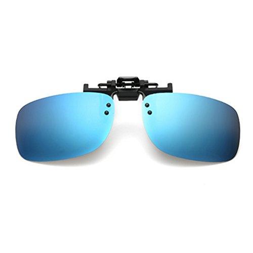 Meijunter Männer Polarizer polarisierende Sonnenbrille Myopie-Nachtsicht -Brille praktische Clip-Brille
