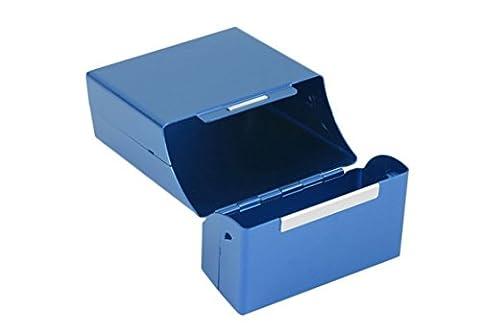 Tfxwerws Aluminium Poche cigare Cigarette Tabac Coque Cigarette Tin Box