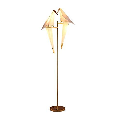 Iluminación moderna Lámpara de pie LED, mesa de dormitorio ático y lámpara de pie de sillas ( Tamaño : 160*55cm )