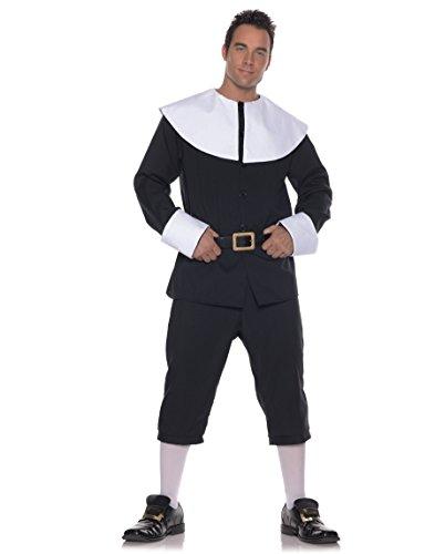 Thanksgiving Pilgrim Man Costume Adult (Kostüm Halloween Pilgrim Herren)