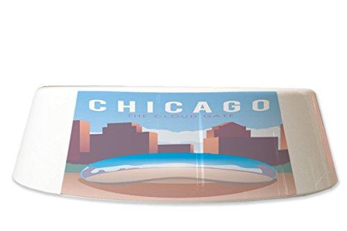 LEotiE SINCE 2004 Fress Futter Napf Reisen Küche Chicago USA Bedruckt Chicago Küche