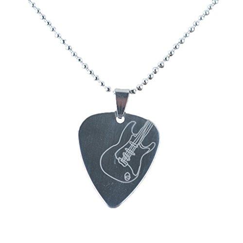 LUFA Edelstahl an Herzform Gitarre Rock Gitarre Picks 0.3mm E Gitarren - Pick T2