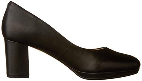 Clarks , Damen Sneaker Black Leather
