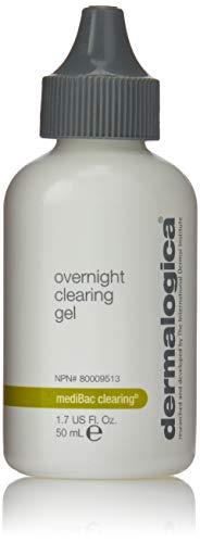 Dermalogica Medibac Overnight Clearing Gel Unisex, Gesichtsgel, 1er Pack (1 x 50 ml) - Sebum Control Serum