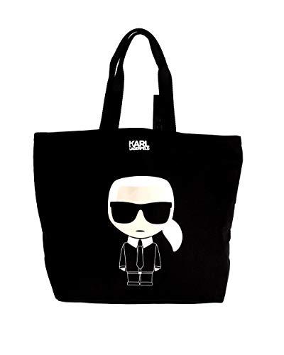 Karl Lagerfeld canvas bag 19kw3124/86/.black/nero/a9e Taglia uni primavera/estate