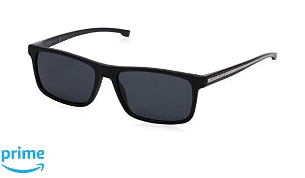 BOSS Hugo Boss Hugo Boss Herren Sonnenbrille Boss 0920/S IR Ypp, Schwarz (Blackcrysblk/Grey Blue), 54