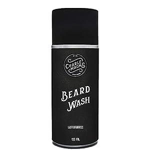 Charlemagne Bartshampoo – Made in Germany – zum Bart Reinigen – Shampoo & Bartseife für Männer – Herren Conditioner zur Bartpflege ohne NaCl