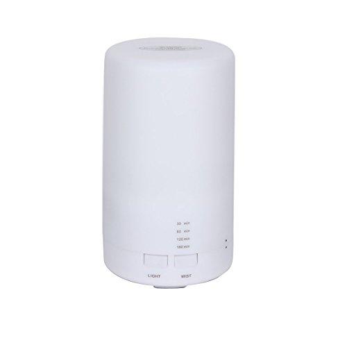 UQ Humidificateur d'air USB Ultrasons Automatique Diffuseur de Parfum/ Aromathérapie/ Huiles essentielles Lumière chaude Maison