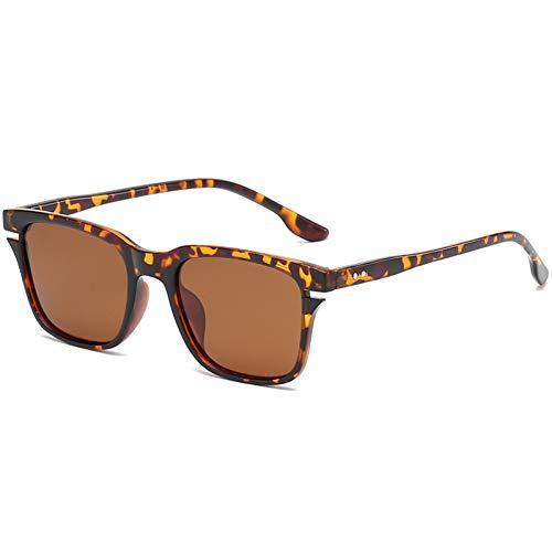 WZYMNTYJ Sonnenbrille Männer Frauen Sonnenbrille Square Frame HD Objektiv Brillen Eyewear Brillen Fahren Fashioned UV400 Outdoor