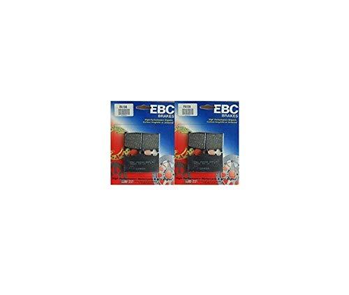 Compatible avec SUZUKI 600 GSXR-97/03 / 750 GSXR-00/03 / GSF 650 BANDIT-07/08 / TLS-97/00 / 1000 SV-03/07-PLAQUETTES DE FREIN AVANT EBC-FA158 X2