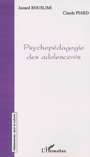 Psychopédagogie des adolescents