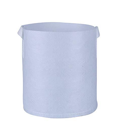 Upxiang Pot de Fleurs Non Tissé Respirant Perméable Biodégradables Godet pour Semis Durable Pots de Tissu Plante Planteur Outil de Jardin
