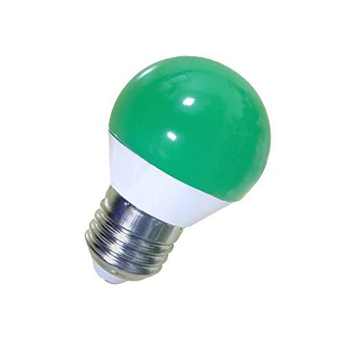 Dicomi LED Leuchte Farbige Glühlampen Leuchtmittel Dekorative Leuchtmittel RGB 5W E27 220V Wechselstrom Grün