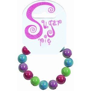 Sugar Pie s02b016Pulsera con Brillantes Brillante Perlas de Pastel