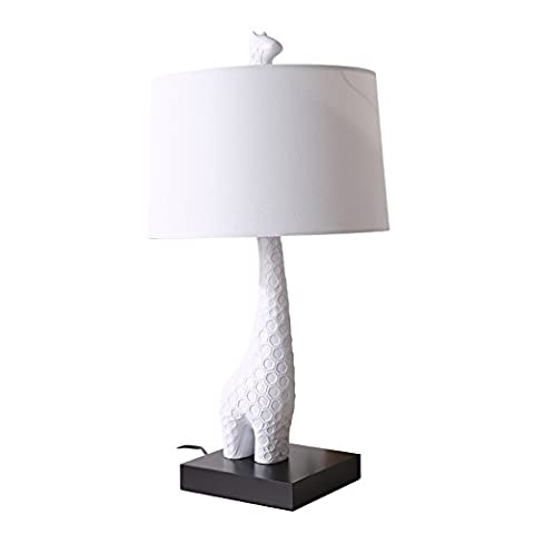 XHOPOS HOME Table Lamp Desk Lamp Modern Minimalist Creative Living Room Child Bedroom Bedside Lamp Decorative Table Lamp Giraffe Button Switch