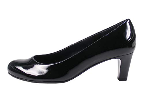 Gabor Shoes Damen Basic Pumps, Schwarz (+Absatz) 77, 39 EU