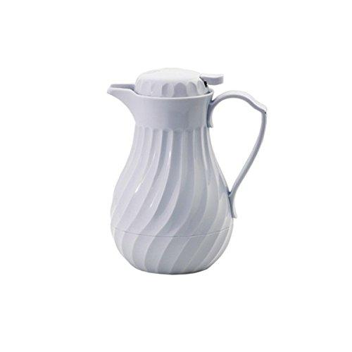 Louis Tellier N5076 Pichet Isotherme Torsadé Blanc 0,6 L