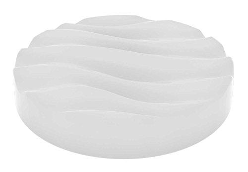 LED-Deckenleuchte Deckenlampe Wohnzimmerlampe GIANT | Acrylglas | Weiß | Ø 50 cm | 1-flammig | Dimmbar | Fernbedienung