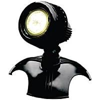 AquaForte Estanque y Jardín LED Lámpara HP6–1, 1x 6W, 12V, Color Negro
