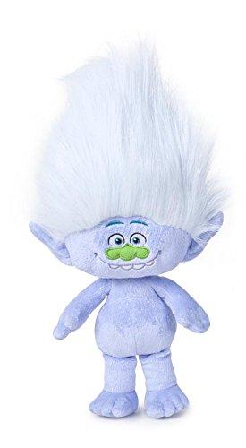Trolls - Peluche Guy-Diamond 36cm, capelli bianchi - Qualità super soft