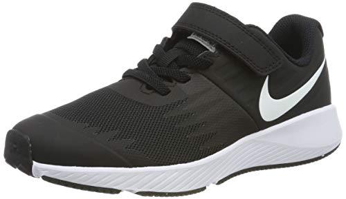Nike Kinder Schuhe (Nike Jungen Star Runner (PSV) Laufschuhe, Schwarz (Black/White/Volt 001), 30 EU)
