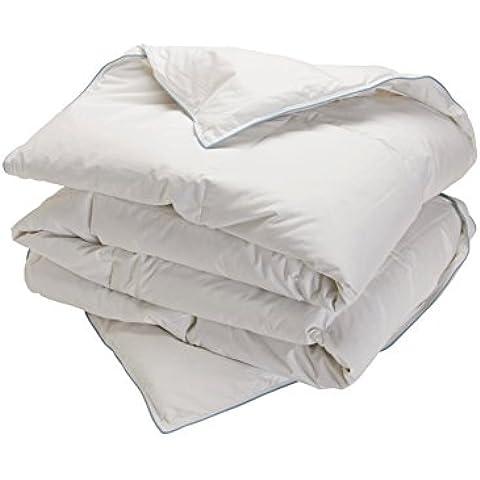 Pikolin Home - Relleno nórdico, 92% plumón, 8% pequeñas plumas de oca, 260 g/m², para cama 135