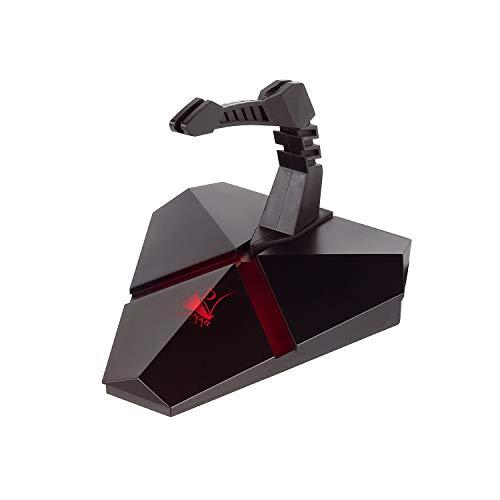 Konix drakkar Bungee ratón con Cable-Hub USB 3Port-Soporte inalámbrico ratón Gaming-rétro-eclairage-Accesorio Gaming PC-Lector Micro SD