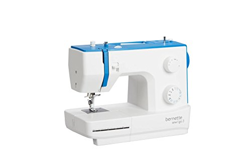Bernette Sew & Go 3 - 50 Stitch functions - 19 Stitch Mechanical Automatic Sewing Machine