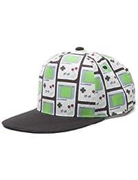 Flashpoint AG Unisex Nintendo Gameboy All-Over Print Snapback Baseball Cap, grau, One Size