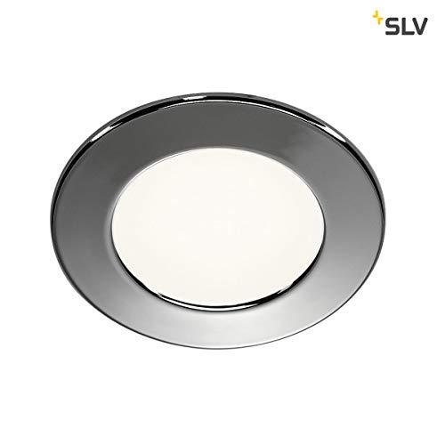SLV DL 126 Einbauleuchte, Aluminium, chrom -