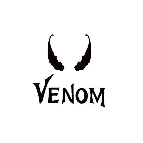 Yisily Engomadas Pared Halloween Creativas Venom Letras