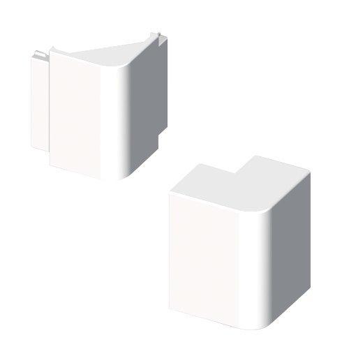 Unex 73272–42U42X Winkel außen, weiß, 40mm x Höhe 90mm breite