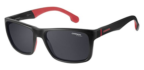 Carrera Herren 8024/Ls Ir Sonnenbrille, Schwarz (MTT BLACK), 57
