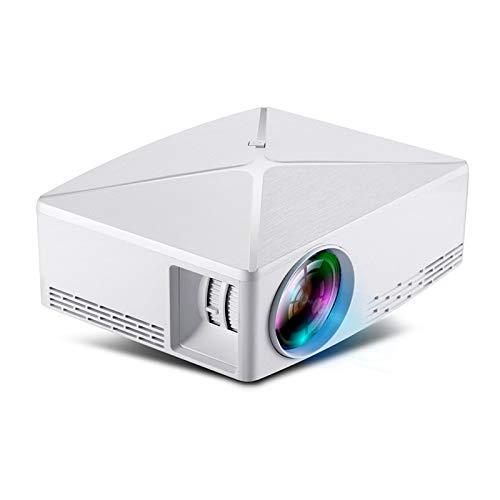 Rwdacfs Micro-Projektor Mini-Home 0,9 kg kabelloser Bildschirm mobiles TV Heimkino