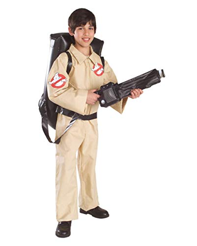 Horror-Shop Ghostbusters Kostüm Set für Kinder L (Kostüm Kinder Ghostbusters)