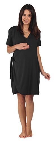 the-bamboo-birthing-wrap-black-medium-pre-preg-uk-10-12-for-pregnancy-labour-breastfeeding