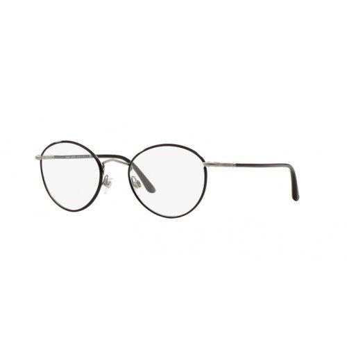Giorgio Armani Brillen Für Mann 5024J 3135, Matte Gunmetal Metallgestell, 50mm