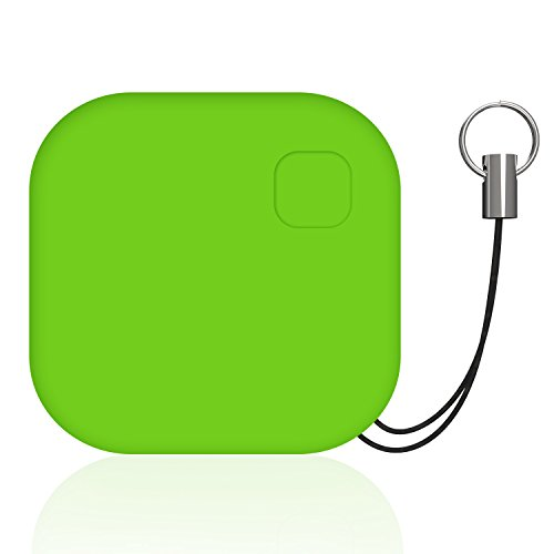 Goman key finder, cercatore chiave wireless localizzatore chiavi bluetooth anti lost trova tracker bidirezionale allarmante per ios iphone/android - verde