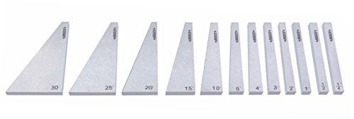 Insize 4003–12Winkel Teller, 12Teller Pro Set