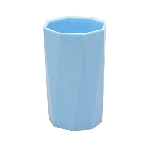 Neuheit Milch Saft Zitrone Tasse Kaffee Tee Tasse Home Kind Drinkware Geschenk Grün/Blau/Rot/Violett Einheitsgröße blau (Kunststoff Party Drinkware)