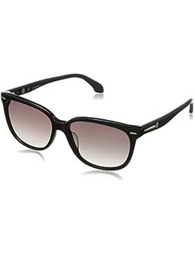 CK Calvin Klein Unisex Sonnenbrille CK4215S 001 schwarz