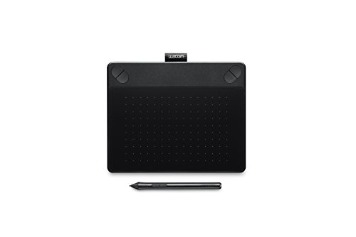 Wacom Intuos Comic Medium Black Grafik-Tablett für digitales Malen von Comics, Mangas und...